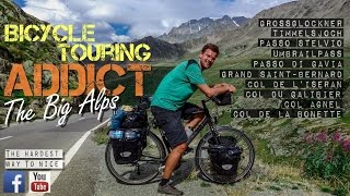 The 10 Highest Passes of the Alps on a Touring Bicycle