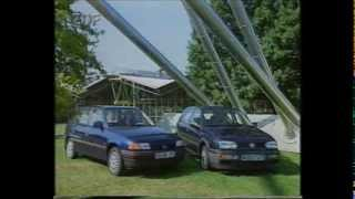 Telemotor test Opel Astra GT VW Golf GT