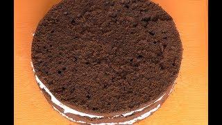 Как Приготовить Шифоновый Шоколадный Бисквит. Секрет приготовления идеального бисквита. Рецепт.