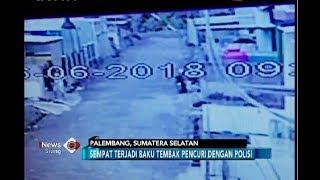 Rekaman CCTV Detik-detik Perampok Ditembak Mati Polisi - iNews Siang 18/06