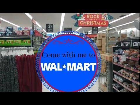 CHRISTMAS AT WALMART ** COME WITH ME!!!!