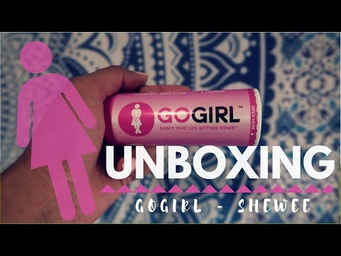 UNBOXING   Go-Girl   Female Urination Device   She Wee
