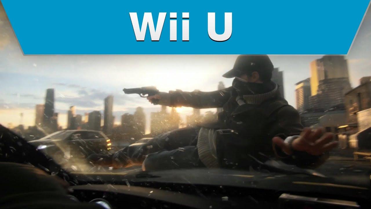 Wii U - Watch_Dogs CGI Trailer