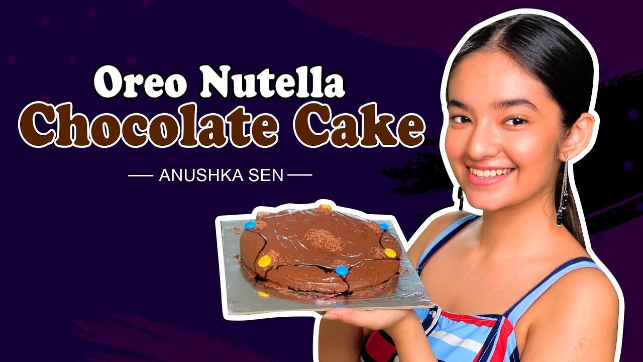 I Made My Favorite Oreo Nutella Chocolate Cake | No Bake Cake Recipe | Cook With Anuskha Sen