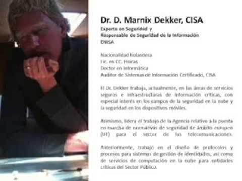 "Marnix Dekker - ""Network and Information security legislation in the EU"""