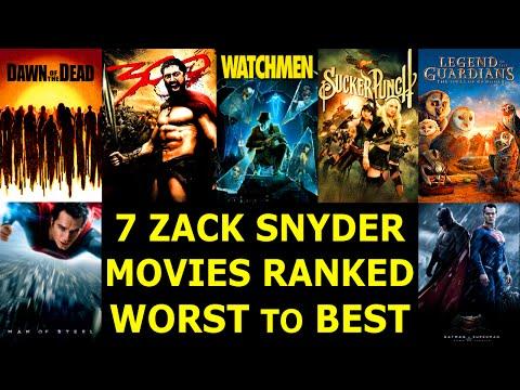 7 Zack Snyder Movies Worst to Best - Ranked #20