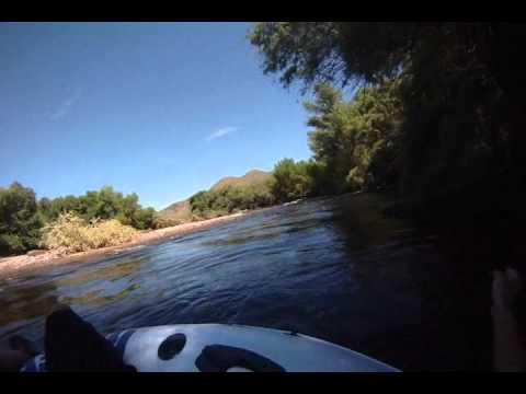 Lower salt river fishing from tube youtube for Lower salt river fishing