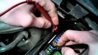 Mercedes S-класс 221 кузов замена/снятие/установка/диагностика предохранителя прикуривателя