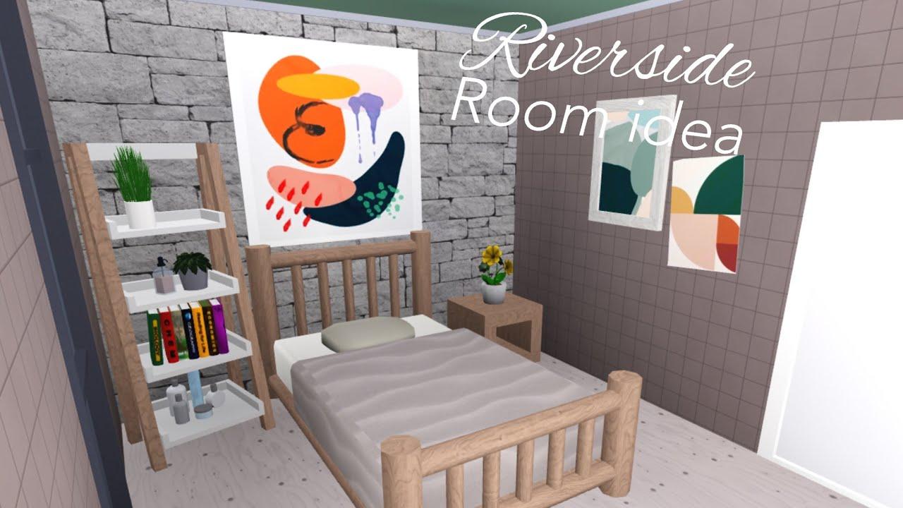 Riverside Room Idea ( Bloxburg 3k ) - YouTube