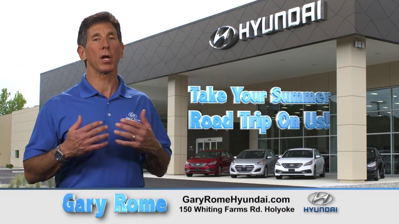 Summer Road Trip on Gary Rome Hyundai in Holyoke, MA - YouTube