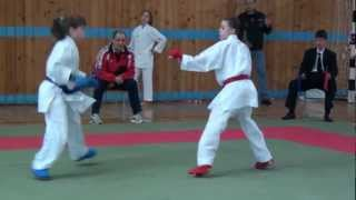 Варвара Шебанова (12-13 лет, -45кг.) - 3 место.