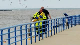 Water rescue in Sheboygan on May 22, 2019