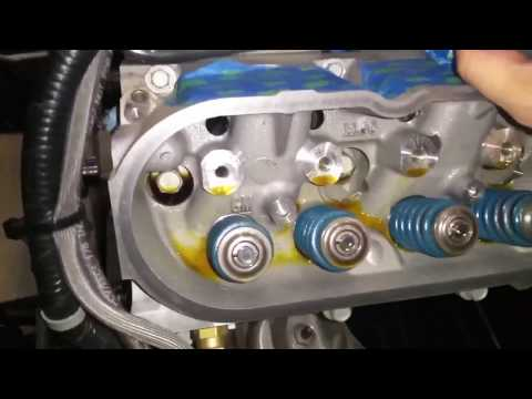 Removing heads, cam, oil pump & front cover from LS motor. Procharged Corvette Build. Part 16