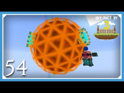 FTB Sky Factory 3 | Upgrade To Tier 8 Draconic Core! | E54 (Modded Skyblock Minecraft 1.10.2)