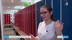 [France 3 Alsace] Première apprentie infirmière du Haut-Rhin