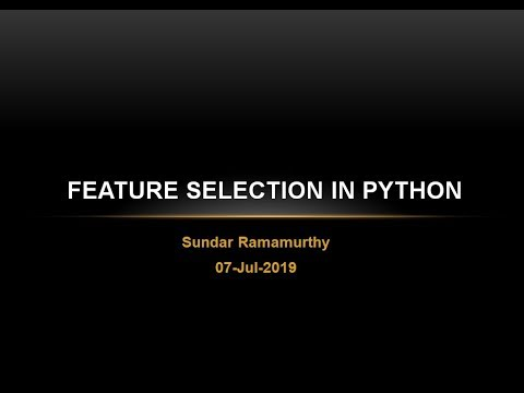 Feature Selection for Machine Learning in Python