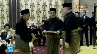 مهاتير محمد (92 عاما) يؤدي اليمين الدستورية لتولي رئاسة الوزراء في ماليزيا
