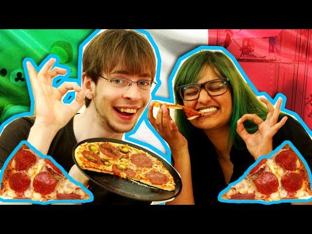 Fryse pizza | Blindsmagning
