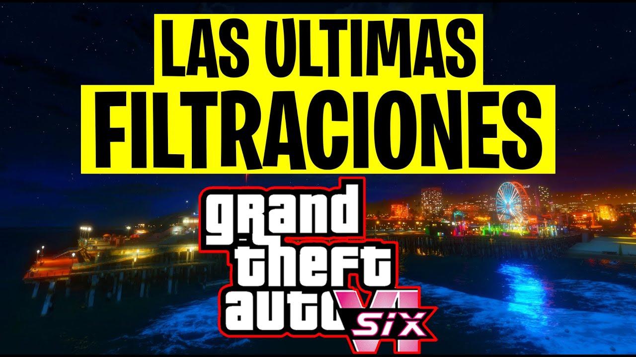 GTA 6 LAS ULTIMAS FILTRACIONES  (mapa, juego de rockstar VR)
