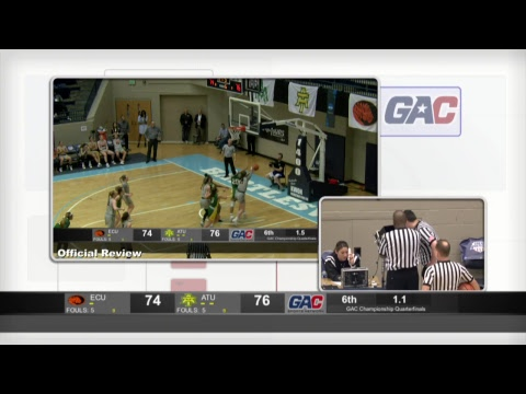 gac-championship-women's-quarterfinal-:-arkansas-tech-vs-east-central