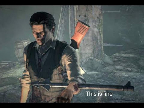 The Evil Within but everything you're not supposed to do |