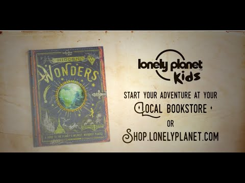 New Release: Hidden Wonders of the World - Lonely Planet Kids