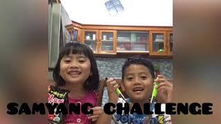 SAMYANG CHALLENGE !!! aku ga sanggup lagi🔥 Farinda dan Aflah
