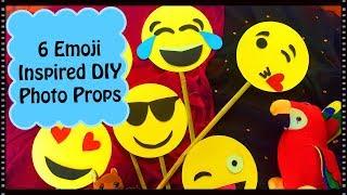 6 Easy Party Props Idea   Emoji Theme