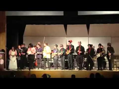 Sean Gordon, El Camino Real Jazz Concert #2 2014