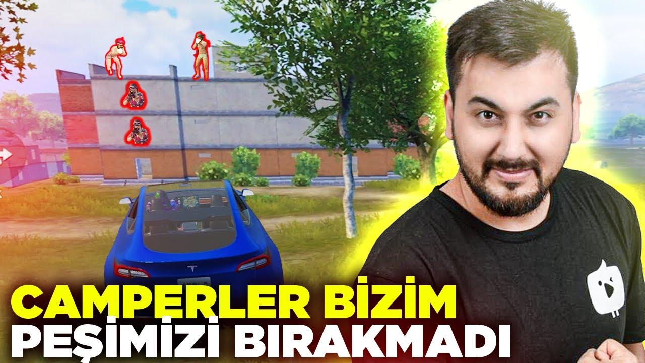 Download CAMPERLER BİZİM PEŞİMİZİ BIRAKMADI / PUBG MOBILE