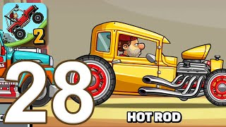 Hill Climb Racing 2 - Gameplay Walkthrough Part 28 - Hot Rod (iOS, Android)
