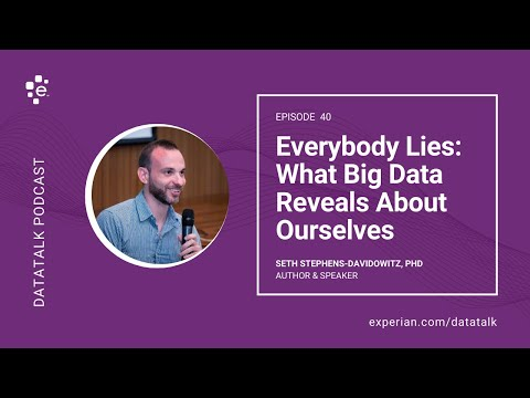 Everybody Lies: What Big Data Reveals About Who We Really Are w/ @SethS_D #DataTalk