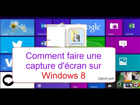comment faire une capture d cran sur windows 8 youtube. Black Bedroom Furniture Sets. Home Design Ideas