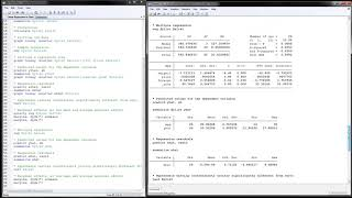 Linear Regression in Stata