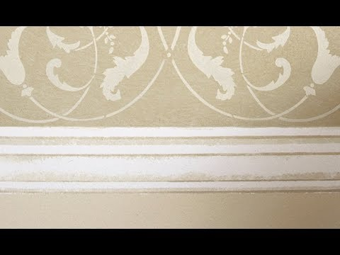 How To Stencil Faux Molding