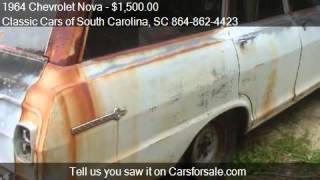 1964 Chevrolet Nova for sale in Gray Court, SC 29645 at the