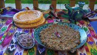Сталик Ханкишиев. Машкичири – каша из маша и риса. Подробный рецепт.