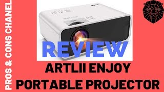 Artlii Enjoy Portable Projector  Review