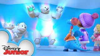 Aurora Bear-ealis | Doc McStuffins Arctic Rescue | Disney Junior