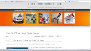 Ohio First Time Home Buyer Grants
