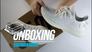 """Unboxing adidas YEEZY 350 """"Triple White"""" - 1 million pairs available!?"""