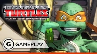 Bebop Boss Battle Gameplay - Teenage Mutant Ninja Turtles: Mutants in Manhattan