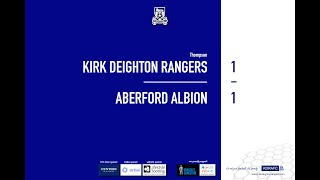 Aberford Albion Match Highlights