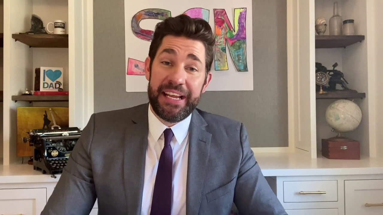 Zoom Surprise Some Good News with John Krasinski Ep  2