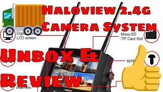 REVIEW: Haloview 2.4G Wireless Monitor Camera System