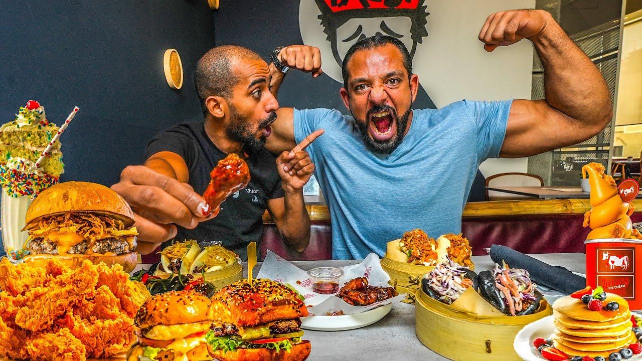 تحدي لفة الرياض ٨ مطاعم 🍔 Riyadh Restaraunts Challenge