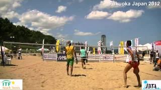Beach Tennis ITF Japan 2012 Fukuoka Semi Final