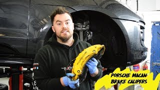 How To Paint Porsche Macan Brake Calipers - The Bodycentre Ltd - Norwich