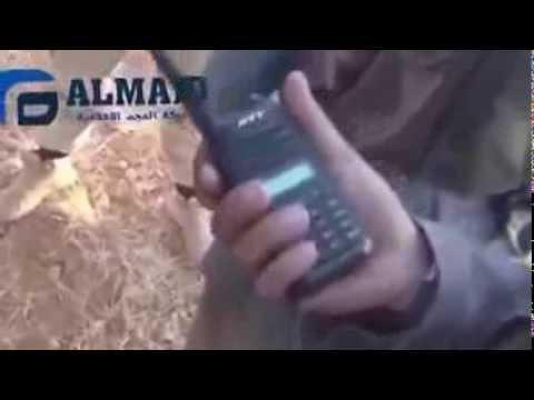 Muslim fighters argue over radio FSA vs ISIS (edit)
