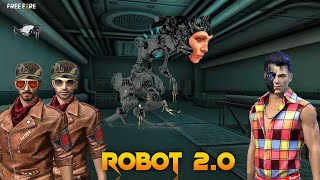 Robot 2.0 [ रोबोट ] New New Action Story in Hindi || Free fire Story